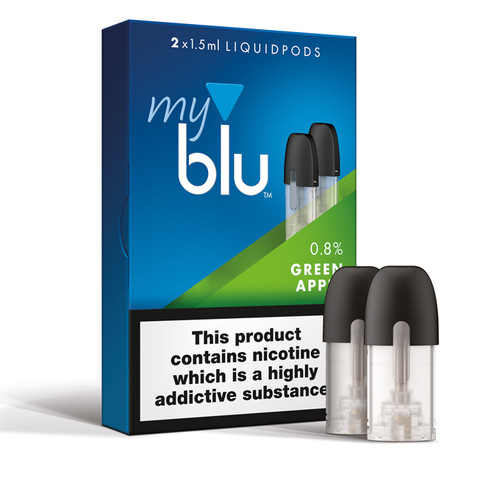 myblu™ Liquidpod Green Apple Flavour 0.8%