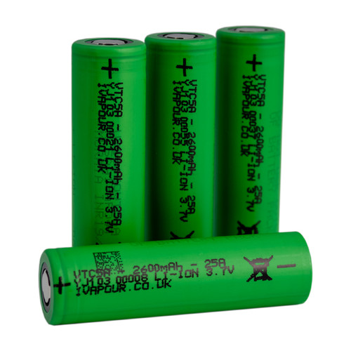 Sony VTC5A 18650 Battery 3.7v 2600mAh 25A