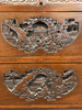 Intricately Carved 20th Century Chinese Camphorwood Bar Cabinet / Console
