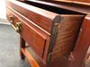 GEORGE ZEE Hong Kong Solid Rosewood End Side Tables - Pair