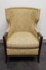 "BAKER ""Manor"" Transitional Wing Chair in Paisley - BA6348 1"