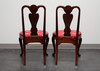 HICKORY CHAIR Queen Anne Style Dining Side Chairs - Pair 4