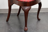 HICKORY CHAIR Queen Anne Style Dining Side Chairs - Pair 2