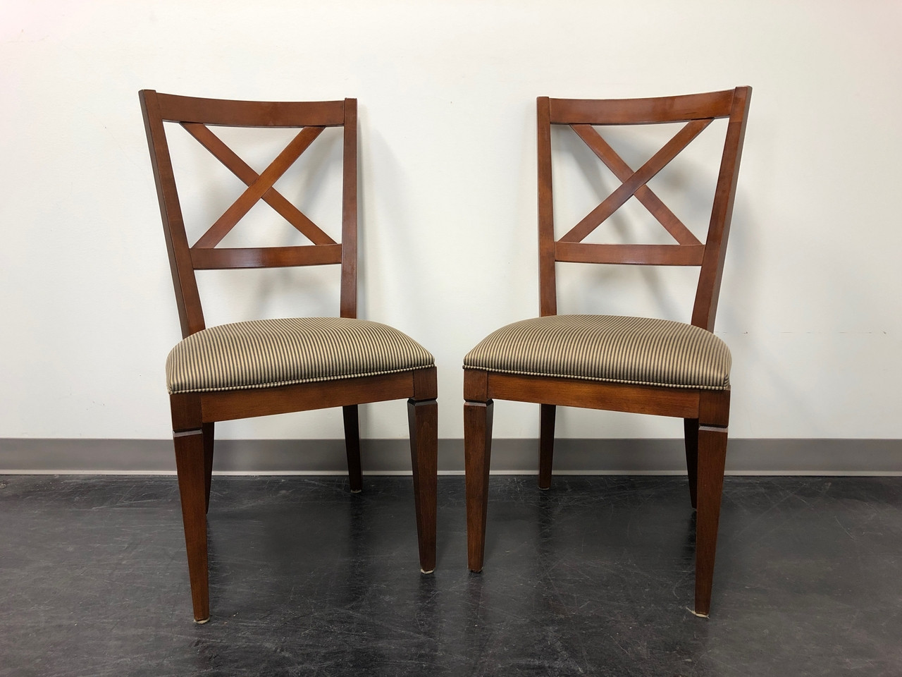 Ethan Allen Elements Maple Dining Side Chairs Pair 1 Boyd S