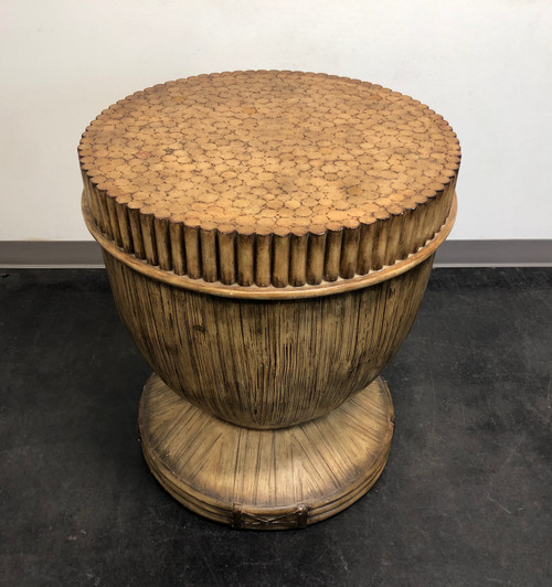 LANE VENTURE Faux Bamboo Round Table Base