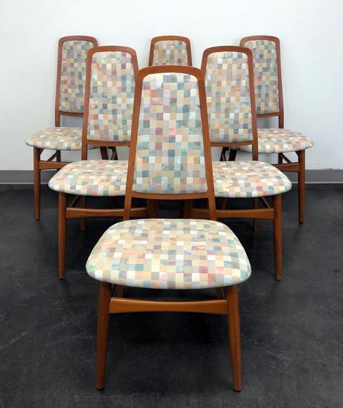 SOLD - FAARUP MOBELFABRIK Solid Teak Danish Mid Century Modern Dining Chairs - Set of 6
