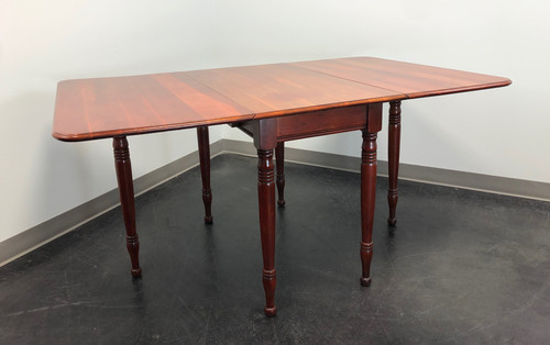Antique Cherry Drop Leaf Gateleg Dining Table