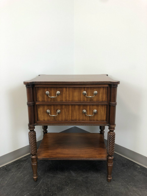 SOLD - ETHAN ALLEN Melville Mahogany Night Table