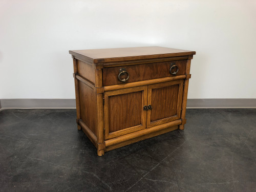 THOMASVILLE Stroupe Faux Bamboo Nightstand