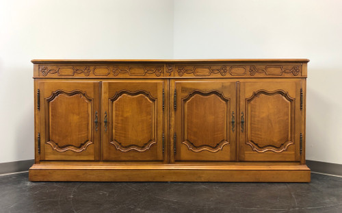 BAKER Walnut French Country Sideboard Credenza