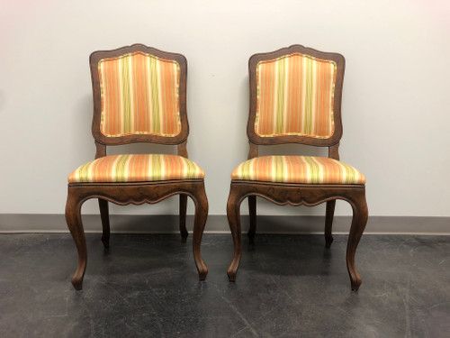 BAKER French Country Style Dining Side Chairs - Pair 2