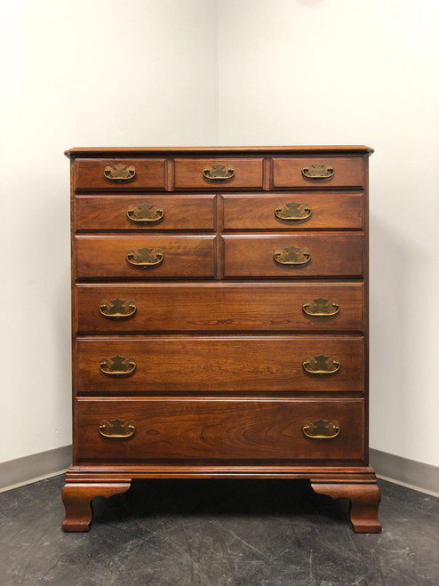 STATTON Solid Cherry Chippendale Style Chest of Drawers