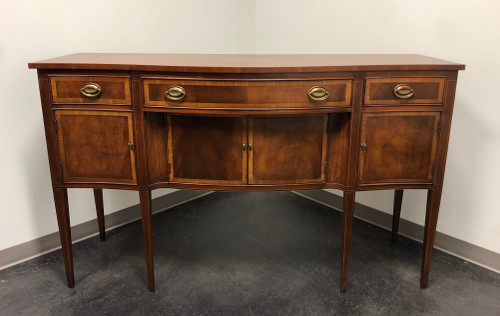 SOLD - HICKORY CHAIR Inlaid Mahogany Hepplewhite Sideboard