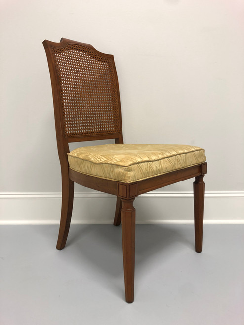 Louis XVI Style Adriano Cherry Dining Side Chair by Davis Cabinet Co