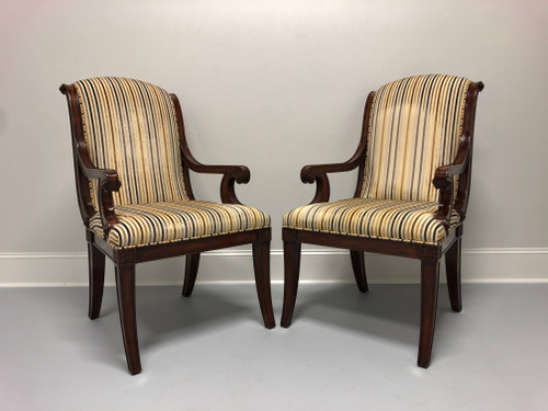 THEODORE ALEXANDER Gabrielle French Provincial Armchairs - Pair