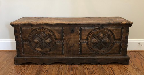 16th Century Belgian Coffer 2