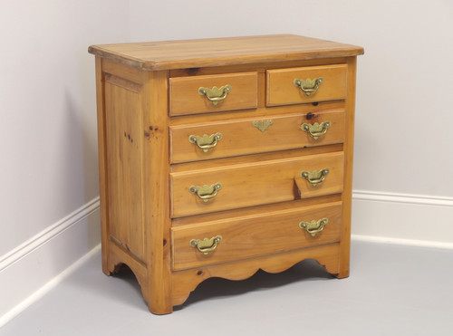 Coastal Style Pine Bachelor Chest