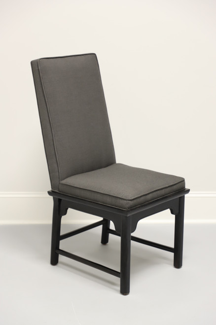 CENTURY Chin Hua by Raymond Sobota Black Lacquer Side Chair