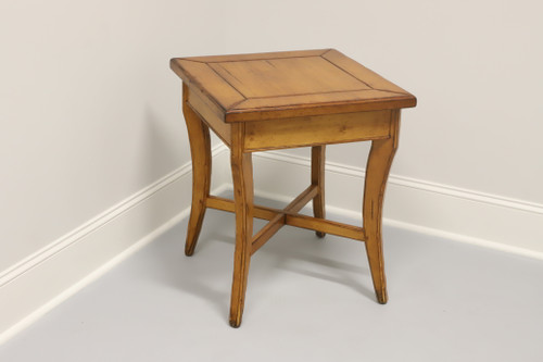Woodland Furniture Idaho Falls Giles Distressed Cottage Style Accent Table 2