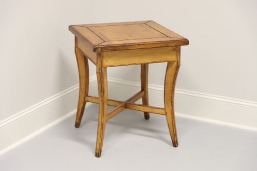 Woodland Furniture Idaho Falls Giles Distressed Cottage Style Accent Table 1