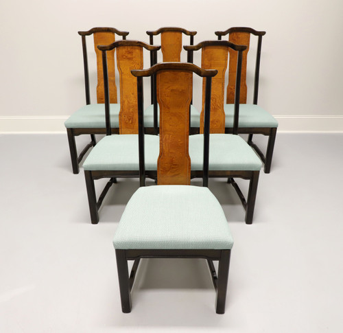 BROYHILL Premiere Ming Asian Chinoiserie Dining Side Chairs - Set of 6