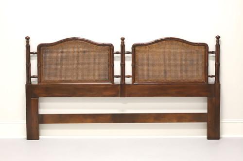 HENREDON Faux Bamboo & Cane King Headboard