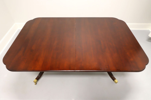 STATTON Solid Cherry Traditional Double Pedestal Dining / Banquet Table