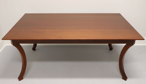 Solid Mahogany Dining Table by Wright Table Company
