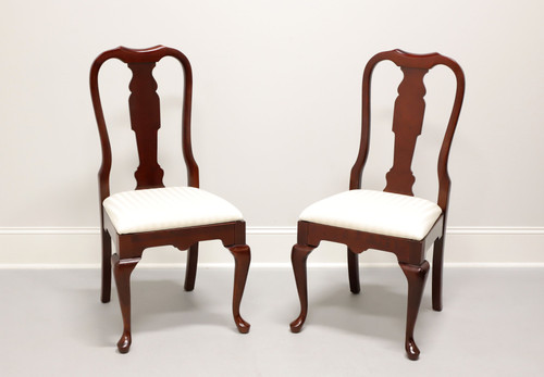 PENNSYLVANIA HOUSE Solid Cherry Queen Anne Dining Side Chairs - Pair A