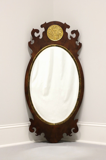 HENREDON Aston Court Oval Chippendale Mirror