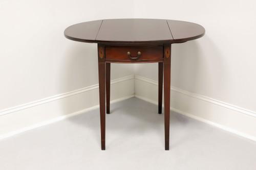 Vintage Inlaid Mahogany Hepplewhite Pembroke Table