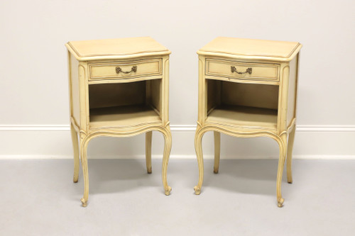 Vintage DREXEL Touraine French Provincial Nightstands - Pair