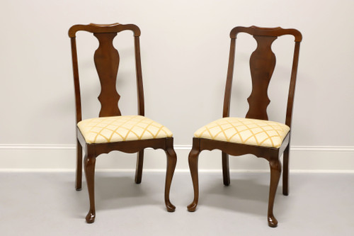 PENNSYLVANIA HOUSE Solid Cherry Queen Anne Dining Side Chairs -  Pair B