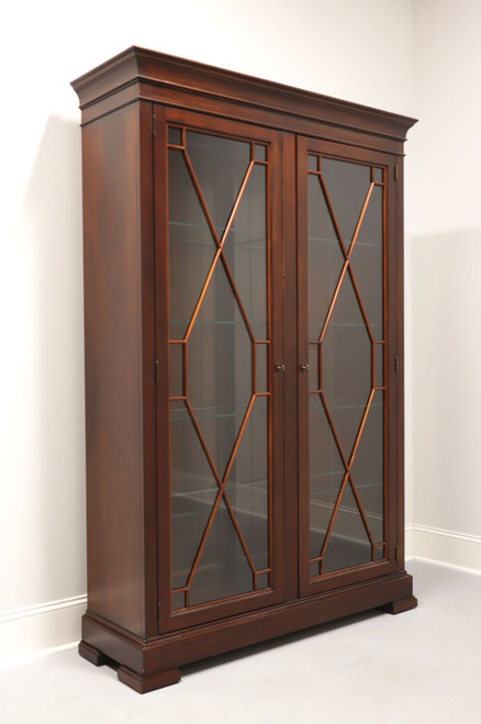 ETHAN ALLEN Birkhouse Chippendale Display Cabinet