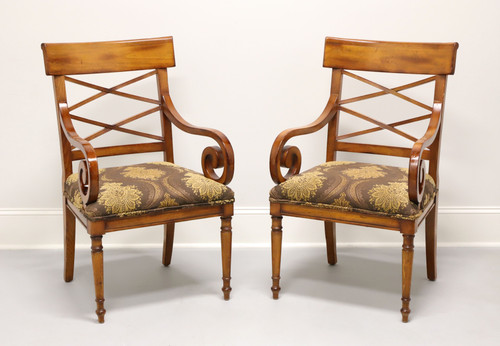 BAKER Milling Road Neoclassical Armchairs - Pair