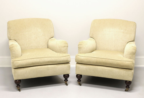 SHERRILL Transitional Style Club Chairs - Pair