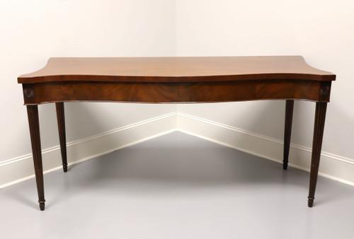 Circa 1800 Mahogany George III Serpentine Serving Table / Sideboard