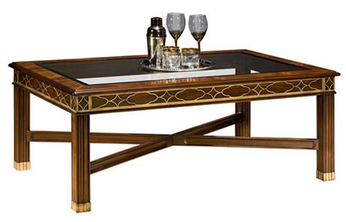 HENKEL HARRIS - 5232G Glass Top Cocktail Table