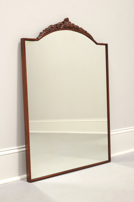 DREXEL French Provincial Carved Mahogany Mirror