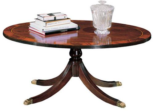 HENKEL HARRIS - 5241 Oval Cocktail Table