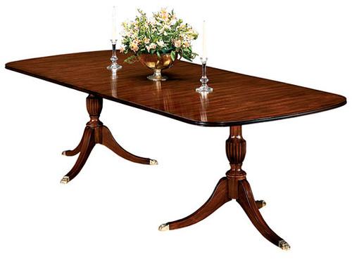 HENKEL HARRIS- 2208 Double Pedestal Dining Table