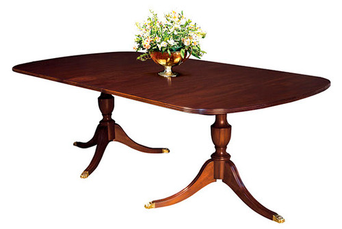 HENKEL HARRIS- 2209 Double Pedestal Table