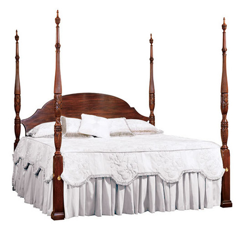 HENKEL HARRIS- 151 Rice Carved Bed