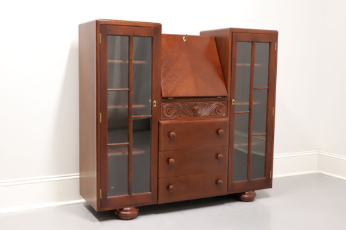 20th Century Art Deco Secretary Desk Bookcase