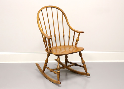 ETHAN ALLEN Circa 1776 Solid Maple Windsor Style Rocking Chair