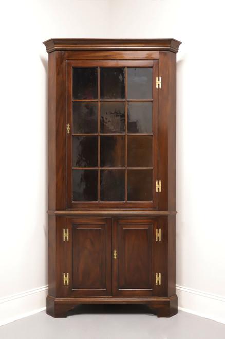 HENKEL HARRIS Model 1114 HL Solid Mahogany Corner Cabinet