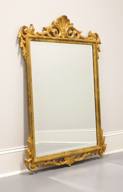 Traditional Style Gold Gilt Beveled Mirror