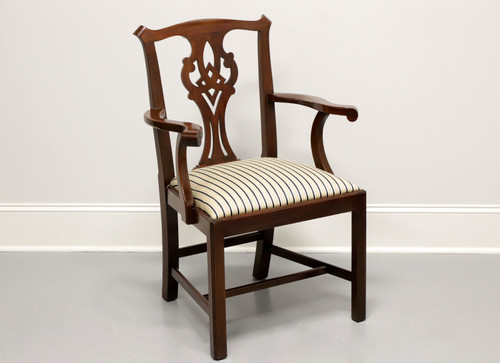HENKEL HARRIS Model 101 A Mahogany Chippendale Dining Captain's Armchair B