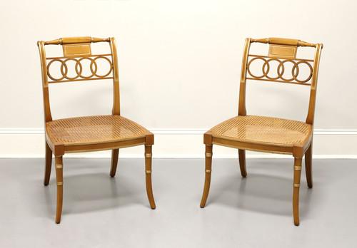 BAKER Historic Charleston Governor Alston Regency Dining Side Chairs - Pair B