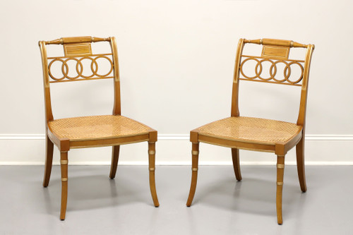 BAKER Historic Charleston Governor Alston Regency Dining Side Chairs - Pair A